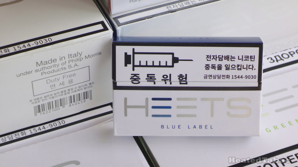 HEETS Blue Label 藍色濃薄菏煙彈 Made in Italy IQOS Heatsticks