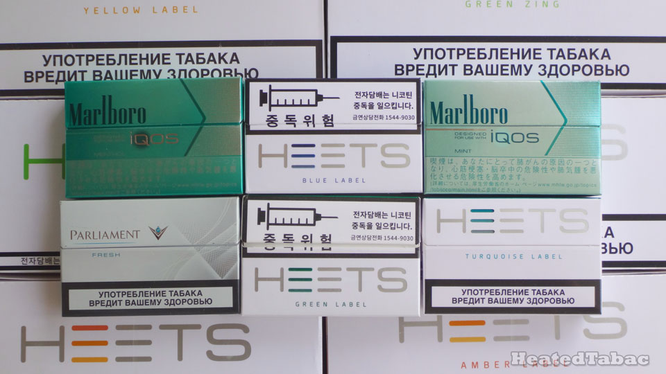 Heatsticks Menthol all 薄菏煙彈清單